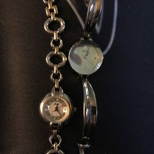 Pair of Relic watches